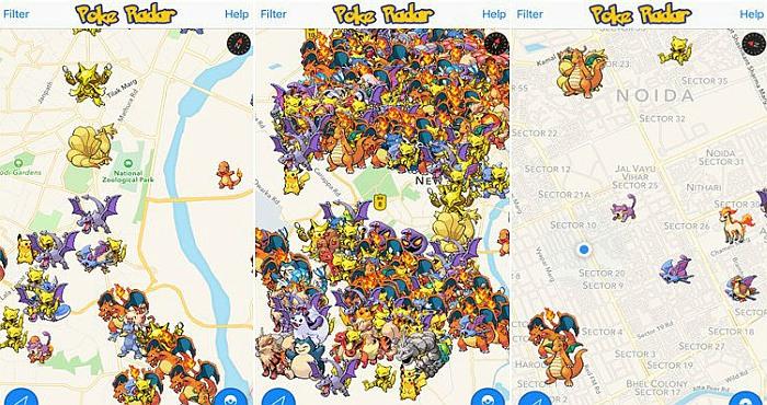 Pokemon Go App in India