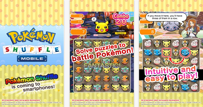 Download Pokémon Shuffle for iPhone and Android